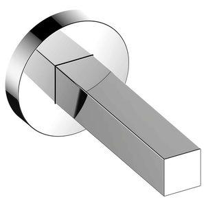 wandmontierter WC-Rollenhalter / verchromtes Metall / für Hotels / für Krankenhäuser