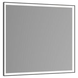 wandmontierter Spiegel für Badezimmer / LED beleuchtet / modern / quadratisch