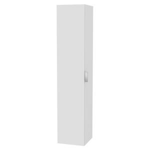 moderner Badezimmer-Schrank / Holz / Glas / wandmontiert