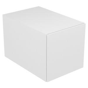moderner Badezimmer-Schrank / Holz / wandmontiert / mit Schublade