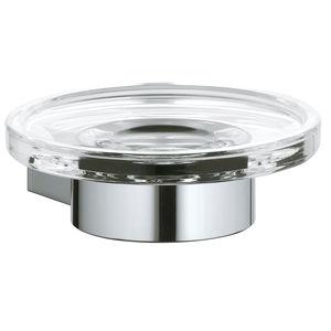wandmontierter Seifenhalter / Metall / Kristall / für Hotels