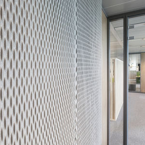 Akustikplatte für Innenausbau / Trevira CS® / Polyester / farbig