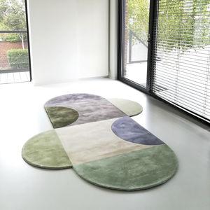 moderne Wandbekleidung / Motiv / Wolle / kundenspezifisch