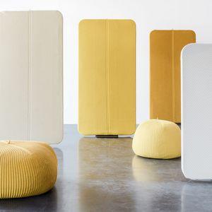 Akustikplatte für Innenausbau / Stoff / Schaumstoff / Dekor