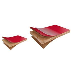 HPL-Dekorplatte / wandmontiert / für Innenausbau / zur Außenraumgestaltung