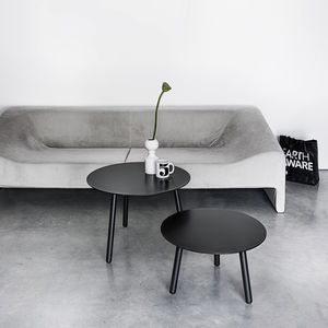 moderner Couchtisch / Holz / Laminat / Linoleum