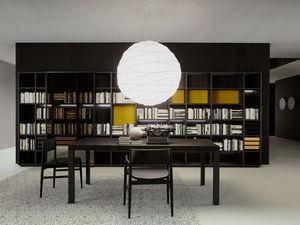 moderne Wohnwand / Holz / lackiertes Holz / von Piero Lissoni