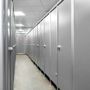 Sanitärkabine für Dusche / für Öffentliche Sanitäreinrichtungen / HPL