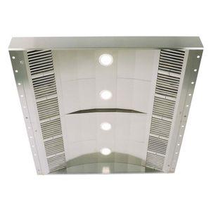 deckenmontierter Dunstabzug / mit integrierter Beleuchtung / Profi