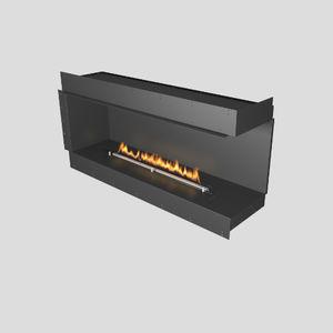 Bioethanol-Kamin / modern / offene Feuerstelle / Ecken