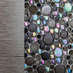 Innenraum-Mosaikfliese / Außenbereich / Wand / Glas