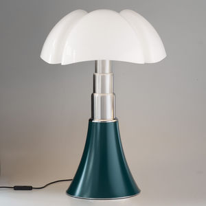 Tischlampe / modern / Aluminium / Edelstahl