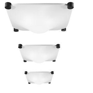 Deckenleuchte / originelles Design / quadratisch / aus Methacrylat / LED