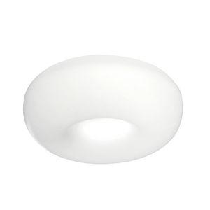 moderne Deckenleuchte / rund / Aluminium / fluoreszierend