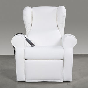 Medizinischer Sessel / Polyurethan / neigbar / elektrisch / weiß