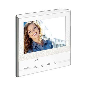 Video-Türsprechanlage / Freisprecheinrichtungen / Farbdisplay / Touchscreen / weiß