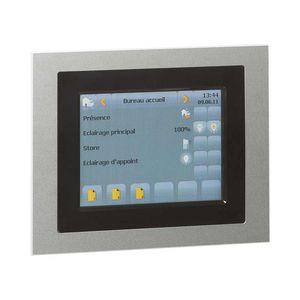 Touchscreen für Zugangskontrolle / wandmontiert / KNX
