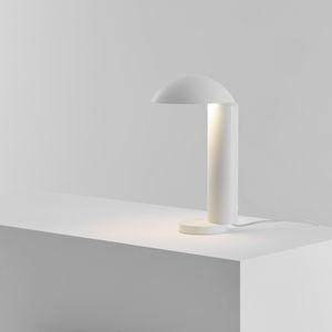 Tischlampe / minimalistisch / Aluminium / Stahl