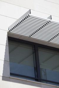 Aluminium-Sonnenschutzlamelle