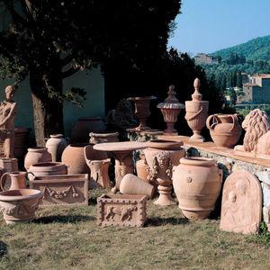 Stil-Vase / aus Terrakotta