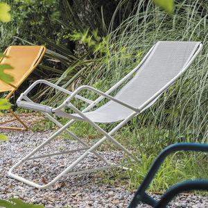 Stoff-Liegestuhl