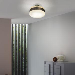moderne Deckenleuchte / rund / geblasenes Glas / Muranoglas