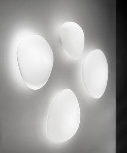 moderne Wandleuchte / Glas / LED / IP20