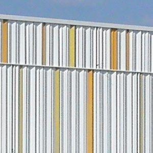 Stahl-Fassadenverkleidung