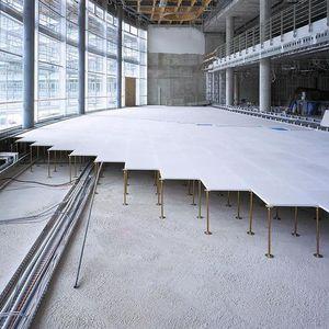 Hochbeständig-Rigipsplatte / rechteckig / quadratisch / für Fußböden