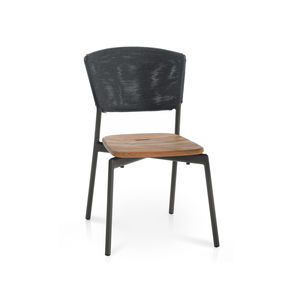 moderner Stuhl / Stapel / mit abnehmbarem Kissen / Batyline®