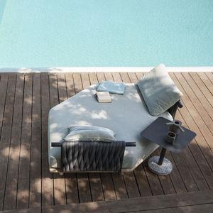 Gartensofa / modular / modern / für Empfangsbereich