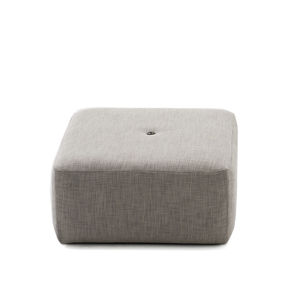 moderner Sitzpuff / Netz / Acrylgewebe / Synthetikstoff