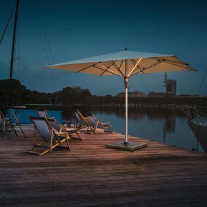 Sonnenschirm für Bar / für Hotels / für Restaurants / anodisiertes Aluminium