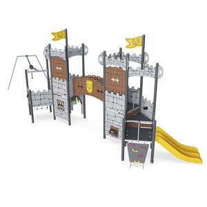 Spielplatzgerät für öffentliche Anlagen