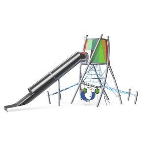 Spielplatzgerät / verzinkter Stahl
