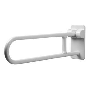 Polyamid-Stützgriff / wandmontiert / Objektmöbel / weiß