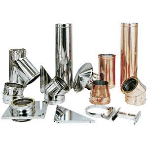 Edelstahl-Rauchrohr / Kupfer / komplettes System