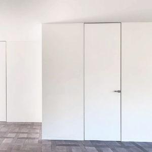 Tür für Innenbereich / einflügelig / aus Tanne / Akustik