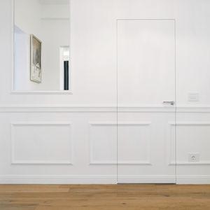 Tür für Innenbereich / einflügelig / Holz / nach Maß