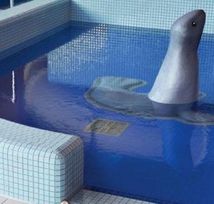 Mosaikfliese für Schwimmbecken / Boden / Wand / Glas