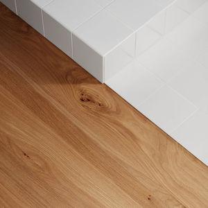 Holz-Laminatboden / HPL / schwimmend / verklebt
