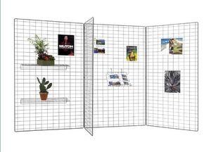 Mehrzweck-Ausstellungsgitter / Metall / für Geschäfte