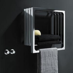 Heißwasser-Badheizkörper / elektrisch / Stahl / modern