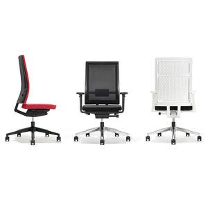 moderner Bürosessel / Stoff / Netz / Polypropylen