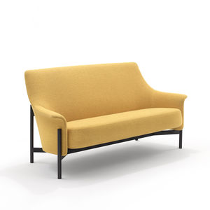 modernes Sofa / Stoff / Objektmöbel / 2 Plätze