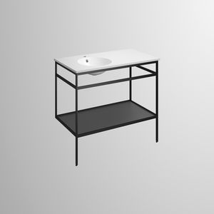 Waschbecken-Unterbau / Stahl