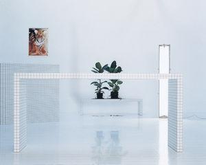 Laminat-Schreibtisch / Kunststoff / modern