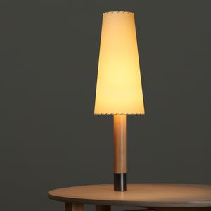 Tischlampe / modern / Nickel / Bronze