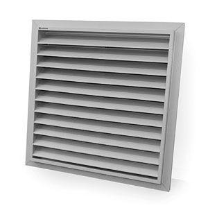 Aluminium-Lüftungsgitter / quadratisch
