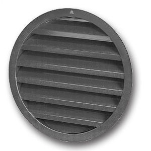 Aluminium-Lüftungsgitter / rund